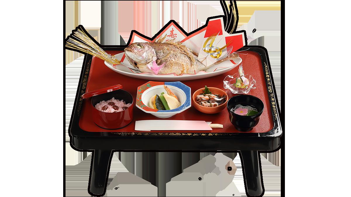 お食い初め料理